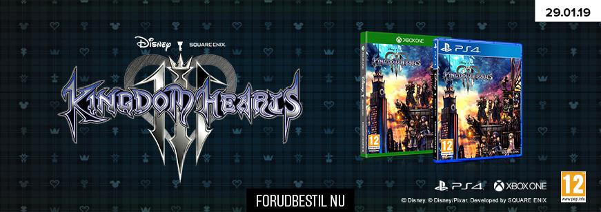 Pre-Order Kingdom Hearts III