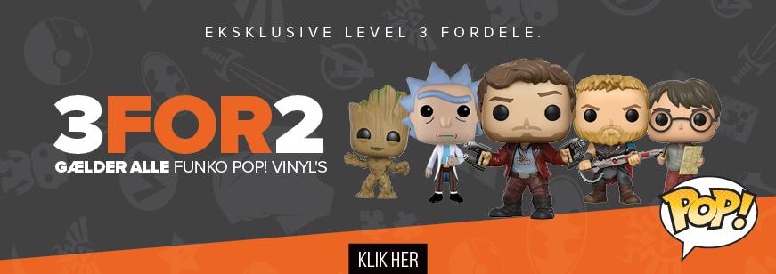 Loyalty Level 3 - 3 For 2 Pop Vinyl Offer