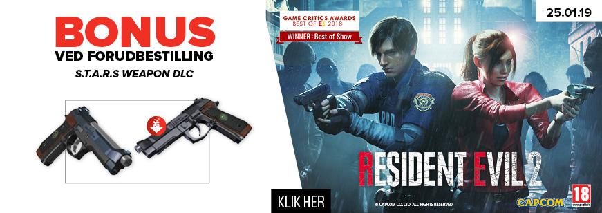 Pre-Order Resident Evil 2