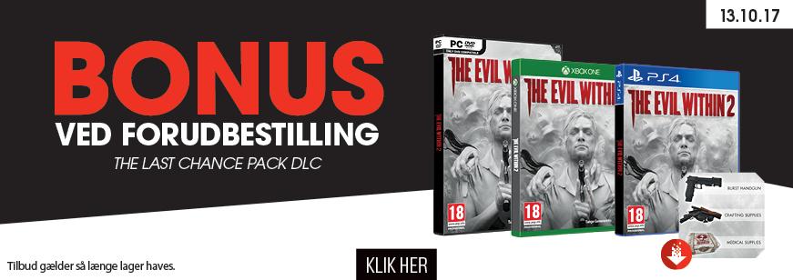The Evil Within 2 Pre Order Bonus