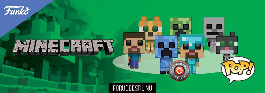 Pre Order Pop! Games: Minecraft