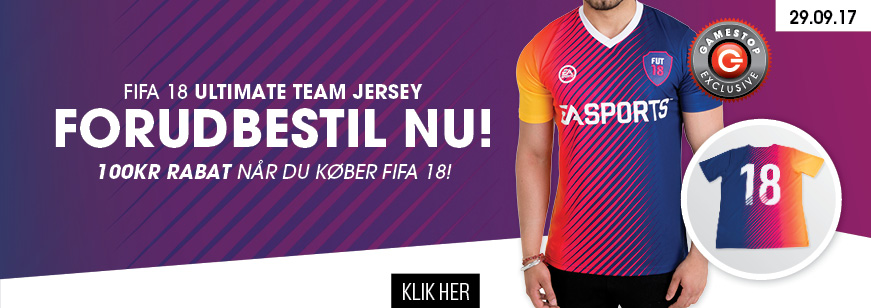 Pre Order Fifa 18 Jersey