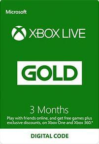 Xbox Live Gold 3 Month Subscription [DIGITAL]