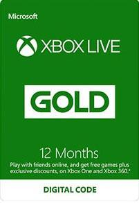 Xbox Live Gold 12 Month Subscription [DIGITAL]