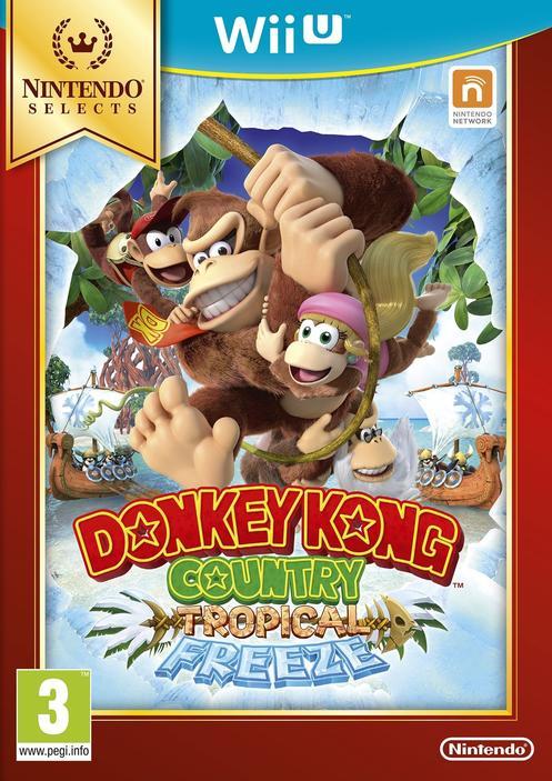 donkey kong country tropical freeze gamestop