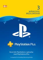 PlayStation®Plus: 3 måneders medlemskab