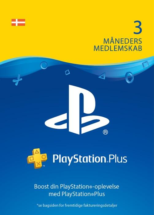 PlayStation®Plus: 3 måneders medlemskab [DIGITAL]