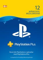 PlayStation®Plus: 12 måneders medlemskab