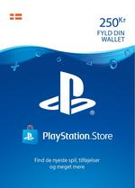 250 kr PlayStation®Network-wallet