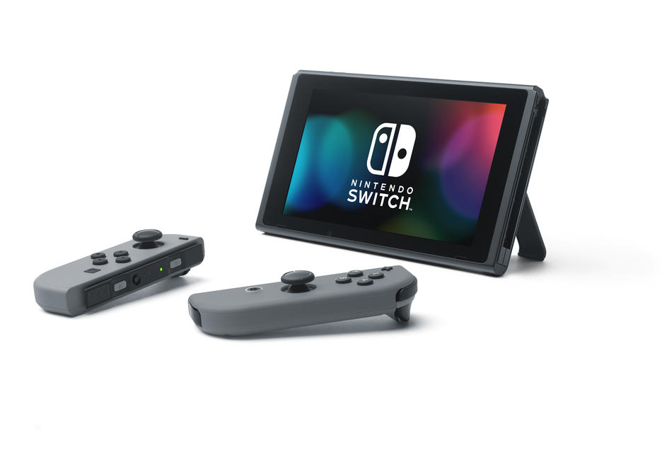 Nintendo Switch Grey Konsol