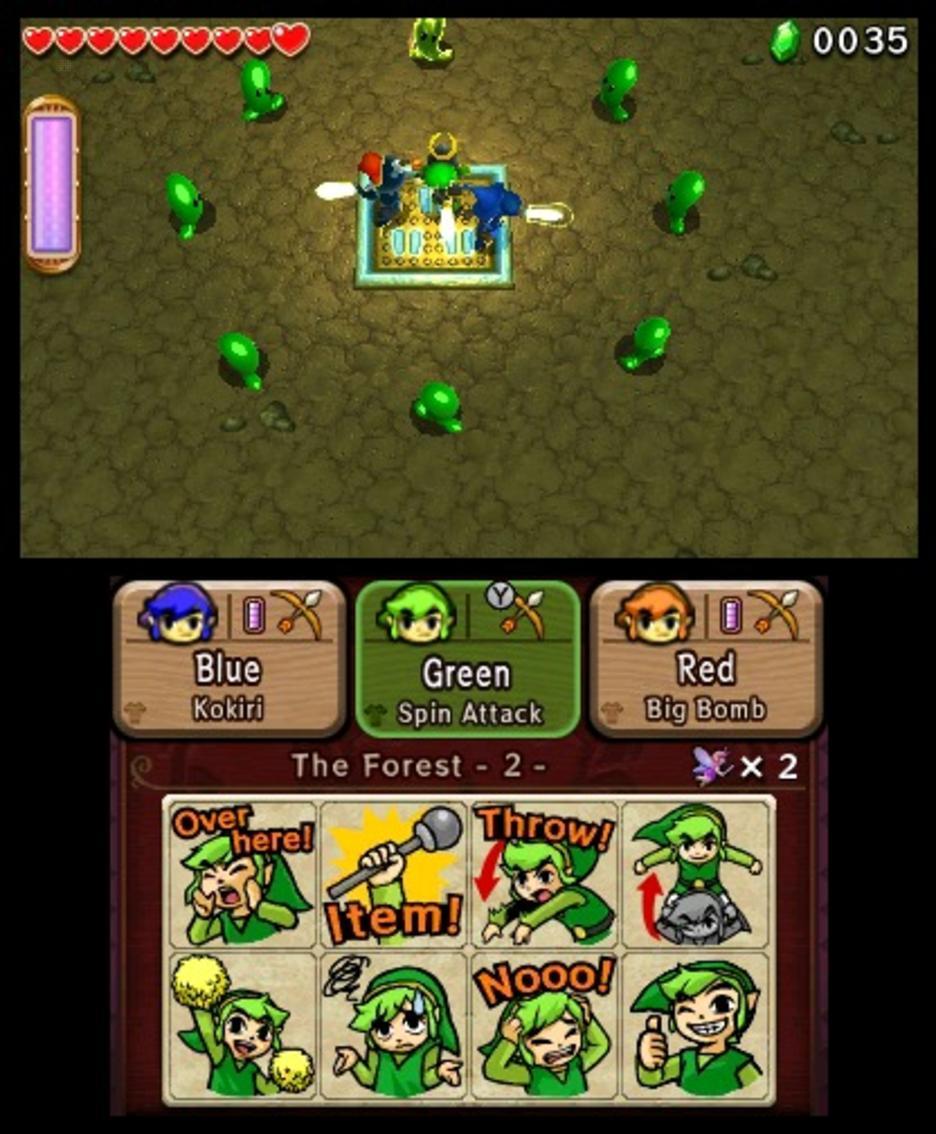 The Legend Of Zelda: Tri-Force