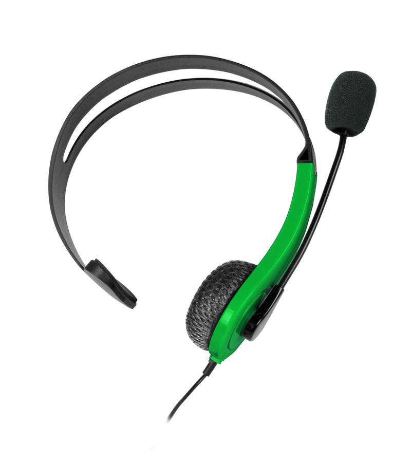 At Play Black/Green Chat Headset til Xbox One til Xbox One