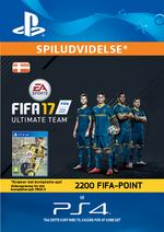 FIFA 17 Ultimate Team - 2200 Points Pack for PS4