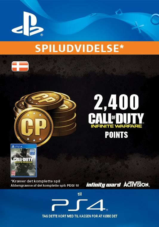 Call of Duty: Infinite Warfare 2,400 Points for PS4 [DIGITAL]