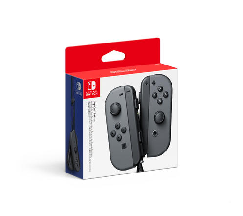 Nintendo Switch: Joy-Con Controllers Grey