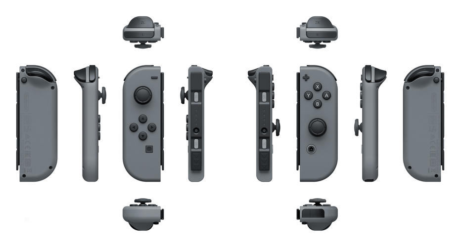 Nintendo Switch: Joy-Con Controllers Grey