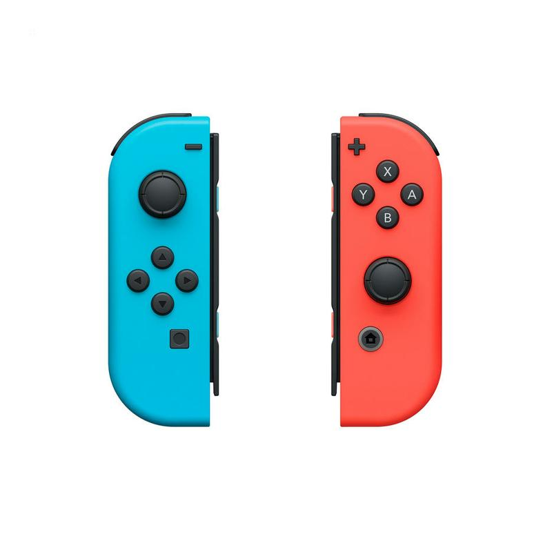 Nintendo Switch: Joy-Con Controllers Red/Blue With Snipperclips