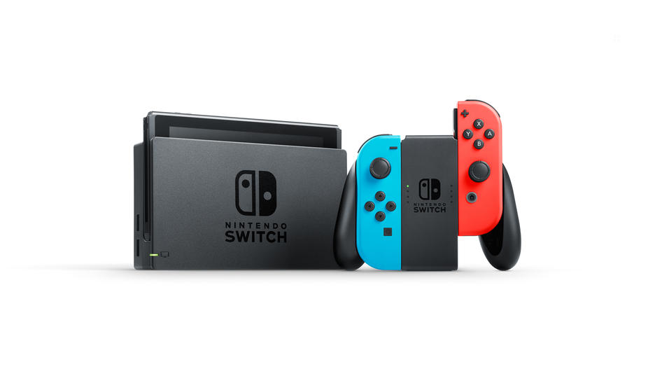 Nintendo Switch Red/Blue Konsol