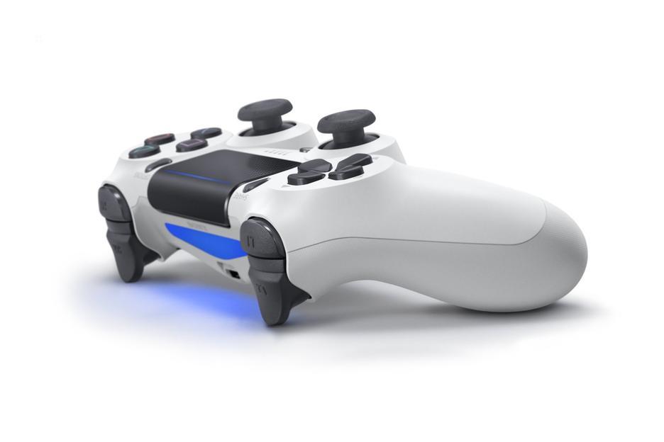 Dualshock 4 V2 White Controller