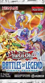 Yu-Gi-Oh! Battle of Legends Light's Revenge Booster Pack