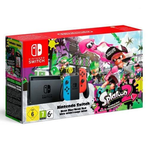 Nintendo Switch Konsol og Splatoon 2