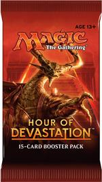Magic The Gathering: Hours of Devastation Booster Pack