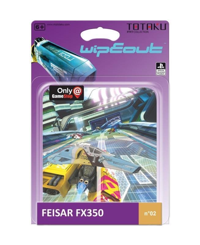 TOTAKU™ Collection: WipEout - Feisar FX350 Ship [Kun Hos GameStop]