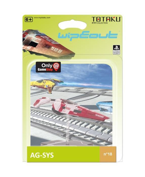 TOTAKU™ Collection: WipEout - AG-SYS Ship [Kun Hos GameStop]
