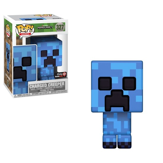 Pop! Games: Minecraft - Charged Creeper [Kun Hos GameStop]