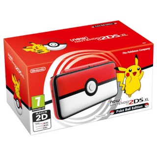 Nintendo 2DS XL Pokeball Edition Console