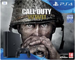 Playstation 4 1TB Konsol og Call of Duty WWII