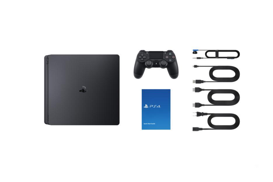 Playstation 4 1TB Konsol og Call of Duty WWII