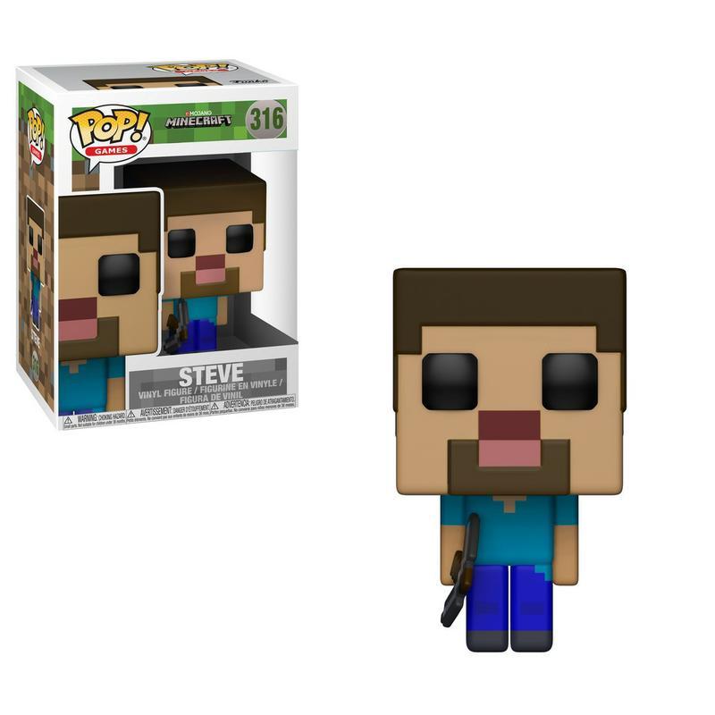 Pop! Games: Minecraft - Steve