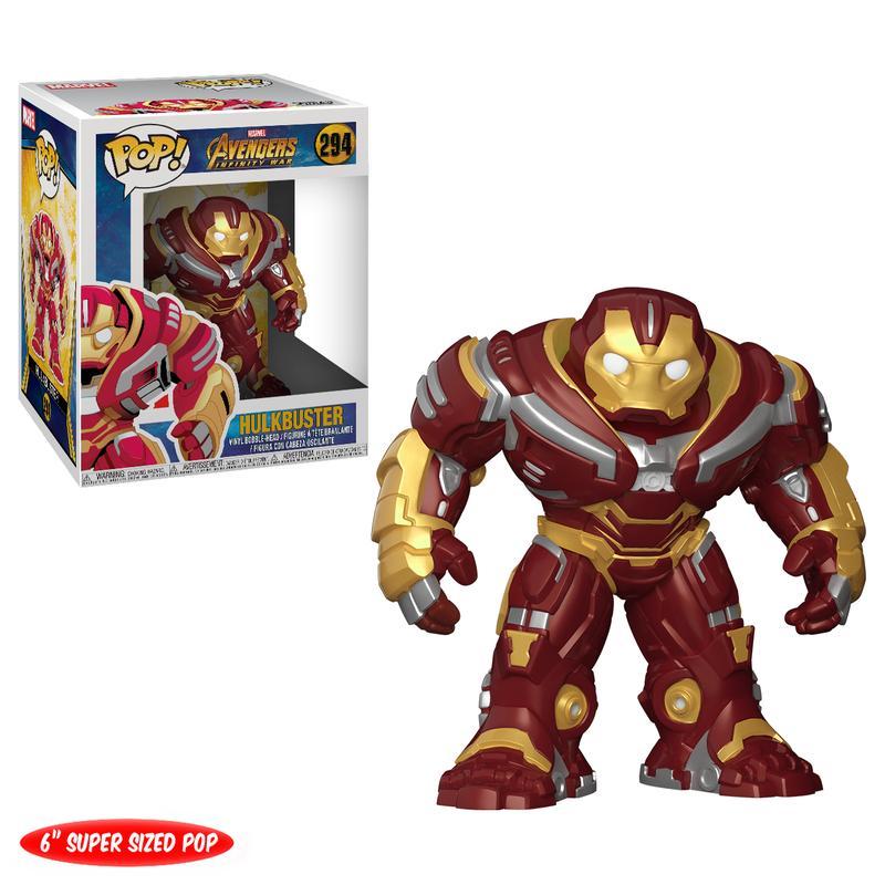 Avengers: Infinity War Hulkbuster 6-Inch Pop! Vinyl Figure