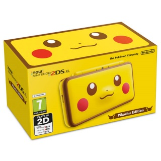 Nintendo 2DS XL Pikachu Edition Console