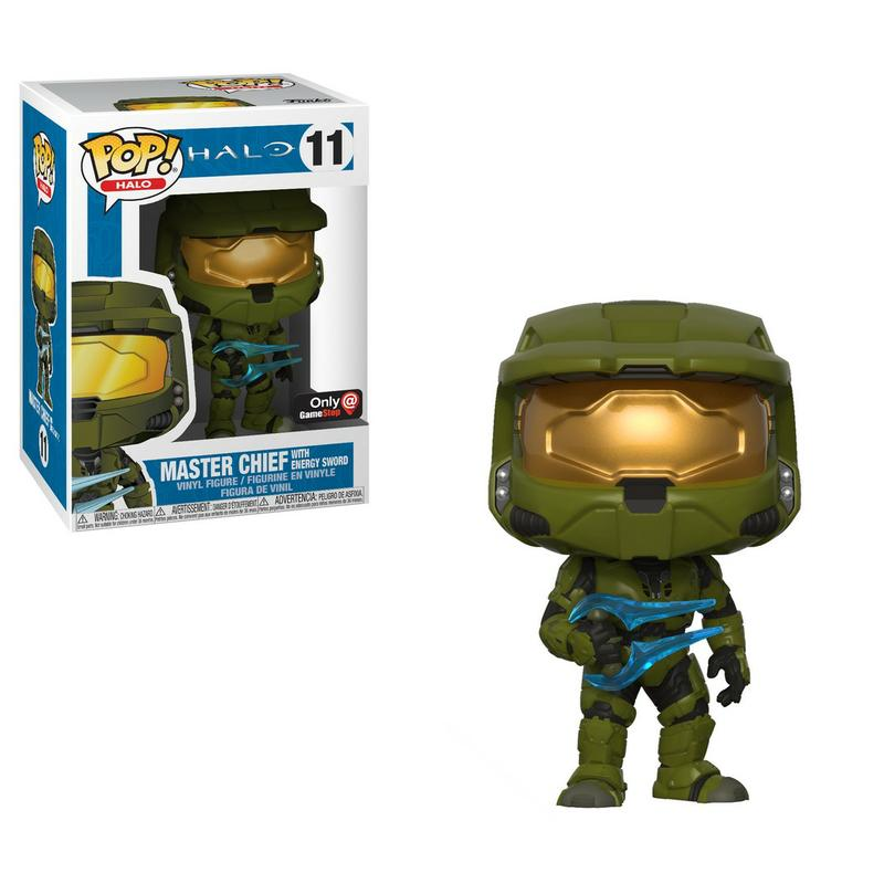 Pop! Games: Halo - Master Chief with Energy Sword [Kun Hos GameStop]