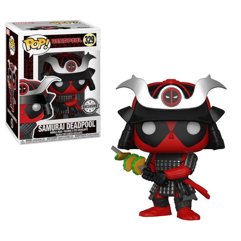 POP! Marvel: Deadpool - Samurai Deadpool [Kun Hos GameStop]