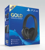 PlayStation 4™ Gold Edition Wireless Black Headset