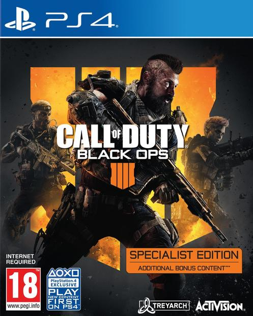 Call Of Duty: Black Ops 4 - Specialist Edition [Kun Hos GameStop]