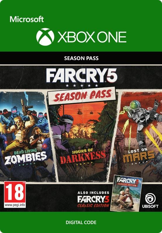 Far Cry 5: Season Pass Til Xbox One [DIGITAL]