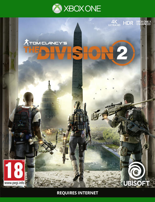 Tom Clancy's - The Division 2 Washington D.C. Edition [Kun Hos GameStop]