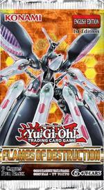 Yu-Gi-Oh! TCG: Flames of Destruction Booster Pack