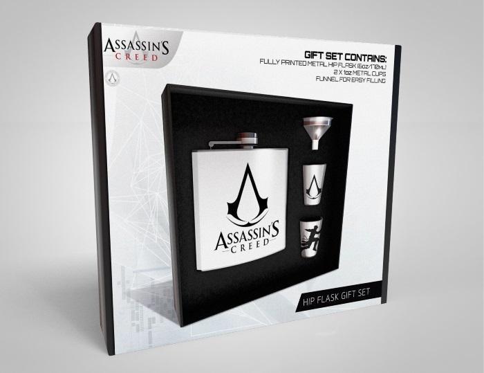 Assassins Creed Flask Set