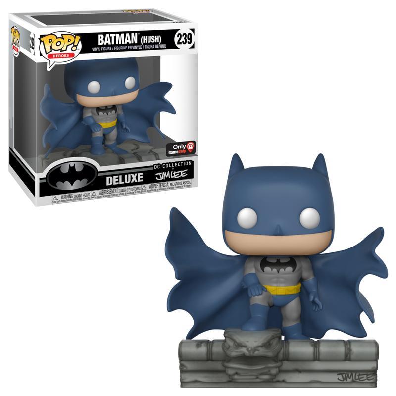 POP! DC Comics: Batman Hush - Batman on Gargoyle [Kun Hos GameStop]