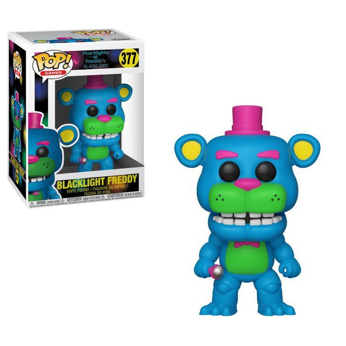 Pop! Games: Five Nights At Freddy's - Blacklight Freddy