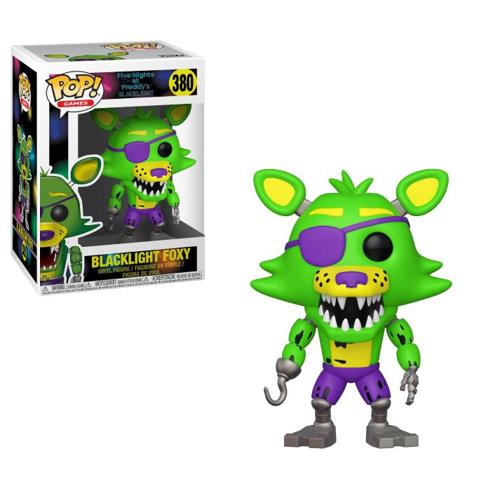 Pop! Games: Five Nights At Freddy's - Blacklight Foxy