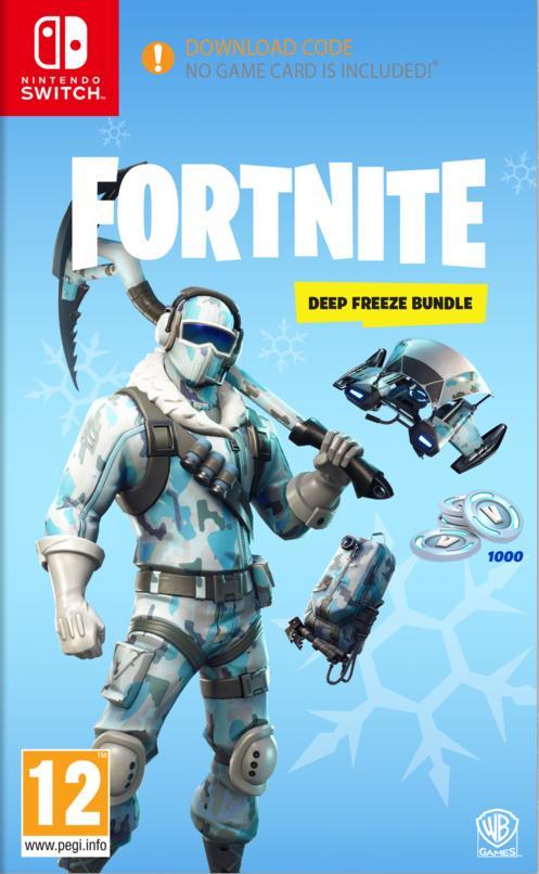 Fortnite: Deep Freeze Bundle Til Switch