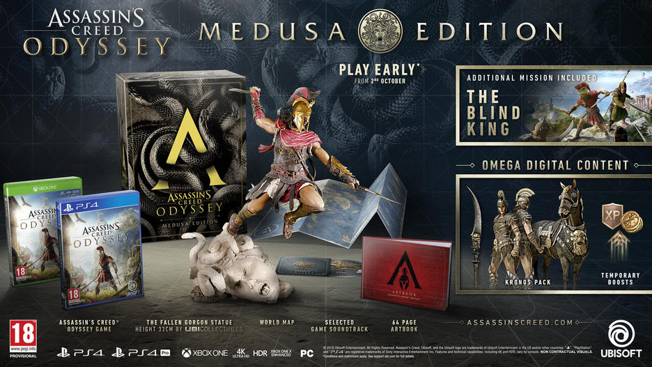 Assassins Creed: Odyssey Medusa Edition
