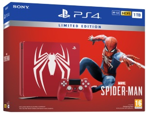Playstation 4 1TB Marvel's Spider-Man Limited Edition Konsol