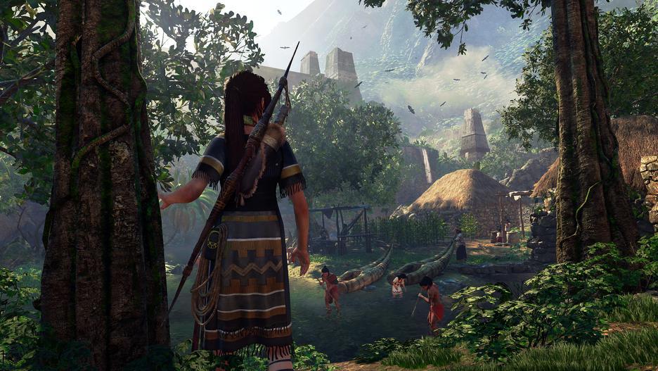 Xbox One X 1TB Konsol og Shadow of the Tomb Raider [Kun Hos GameStop]